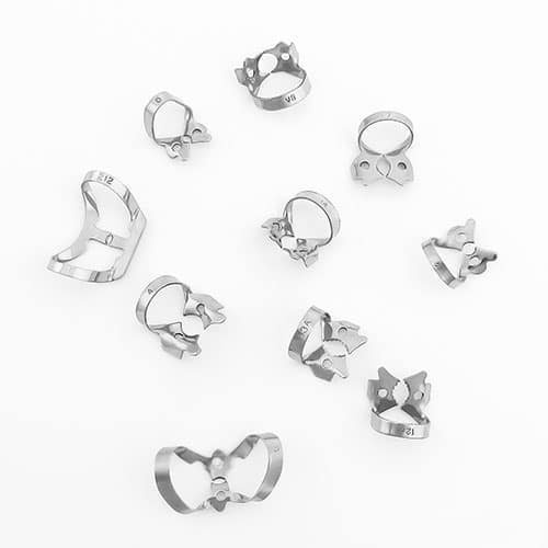 orthodontic clamps