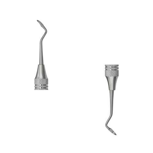 T2/T3 Taylor Posterior Sickle Scaler, Product #39-T2T30, double end view