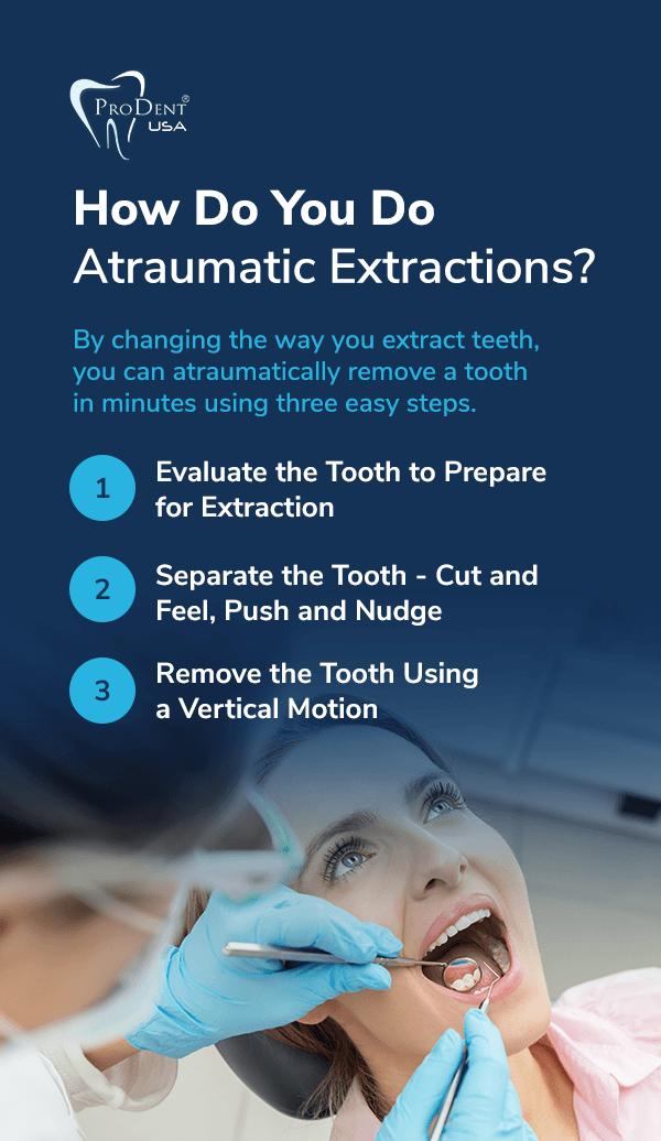 How Do You Do Atraumatic Extractions?